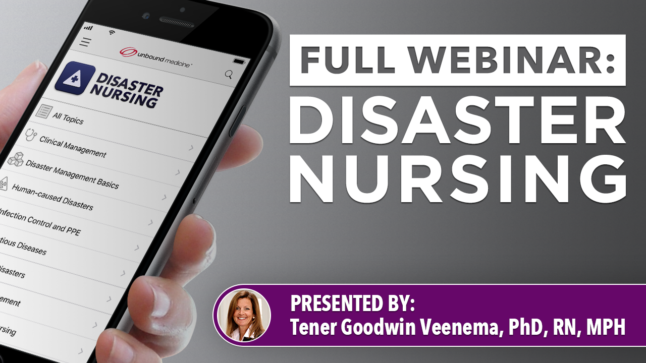 At a time when major disasters are occurring globally with increasing frequency and intensity, it is essential that our nation's nurses and nursing students possess the knowledge, skills, and abilities to respond to a disaster in a timely and appropriate manner.